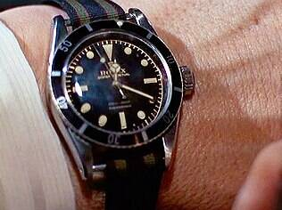 Rolex Submariner de James Bond no filme