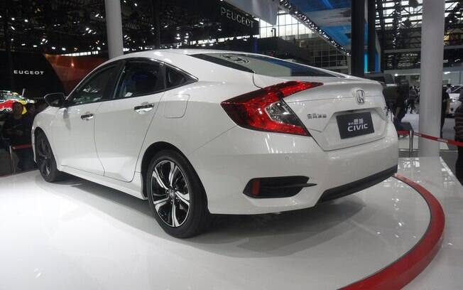 Traseira do Honda Civic