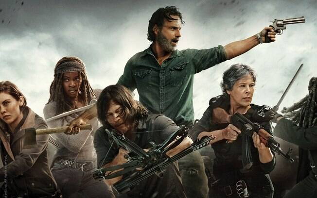Com estreia se aproximando, Fox promove megamaratona para a temporada de ''The Walking Dead''