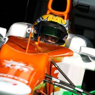 Razia testou pela Force India neste ano