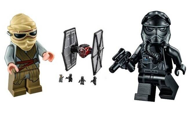 First Order Special Forces TIE fighter™ - preço sugerido: R$ 499,99