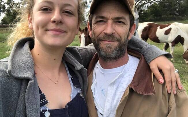 Sophie e Luke Perry