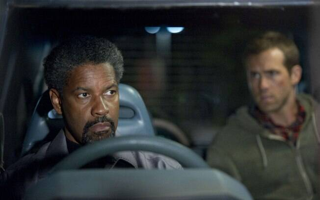 Denzel Washington em 'Safe House'