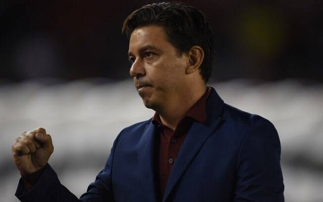 Marcelo Gallardo, técnico do River Plate