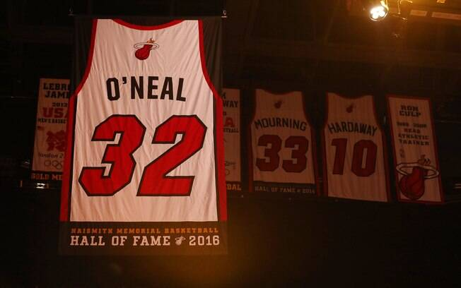 Shaquille O'Neal, 32 Miami Heat