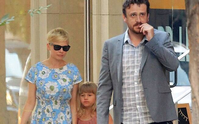 Michelle Williams, Jason Segel e Matilda