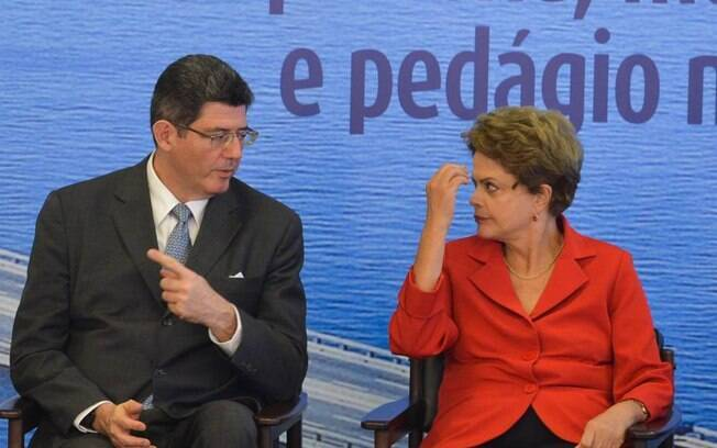 Joaquim Levy e Dilma Rousseff