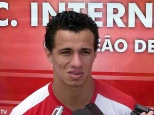 Leandro Damião, atacante do Inter