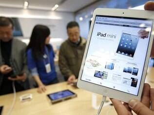 iPad Mini contribuiu para boas vendas do iPad