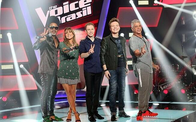 Técnicos do 'The Voice Brasil' apresentam nova temporada do programa