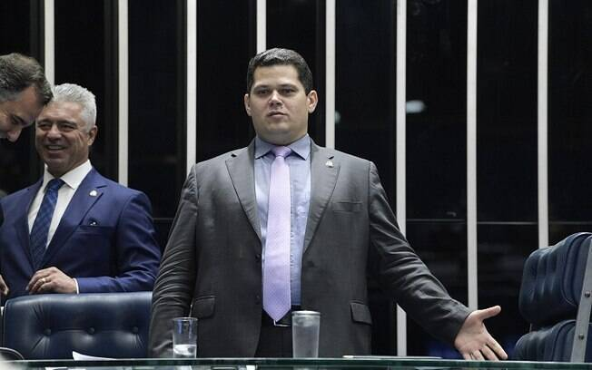 Davi Alcolumbre%2C presidente do Senado