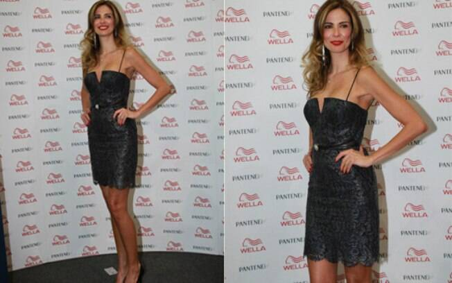 Luciana Gimenez na 'Beauty Fair'