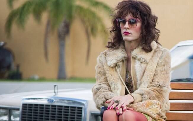 Rayon, personagem transsexual interpretada por Jared Leto