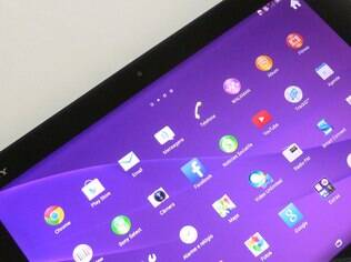 Z2 Tablet roda a versão 4.4 do Android