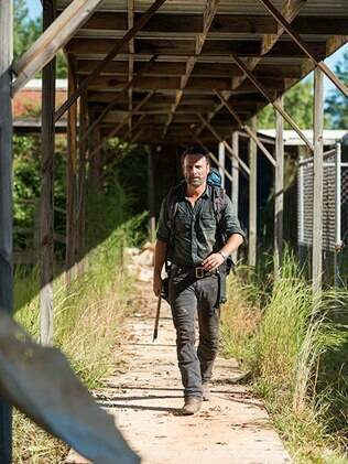 Rick Grimes no 12º episódio de ''The Walking Dead''