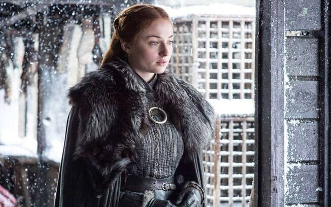 Sophie Turner no oitavo ano de Game of Thrones