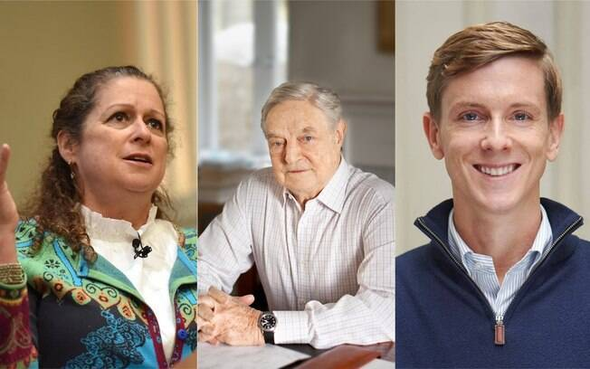 abigail disney, george soros e chris hughes