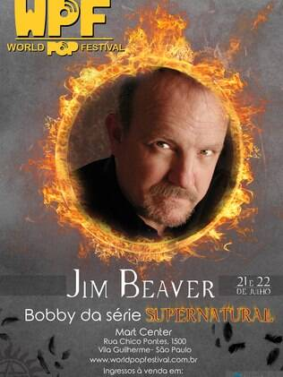 Jim Beaver, o Bobby de Supernatural, é confirmado no World Pop Festival