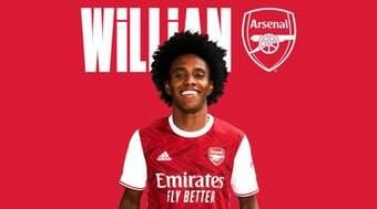Willian é anunciado pelo Arsenal