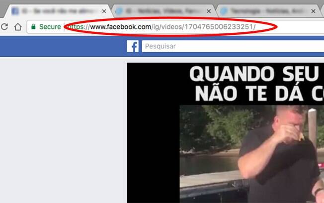 como fazer download de um video do facebook privado