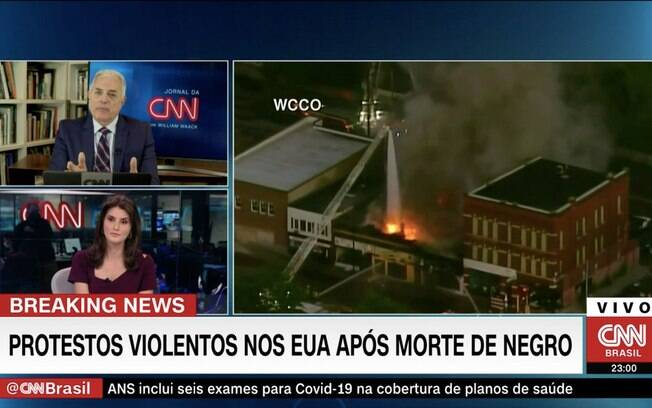 William Waack na CNN