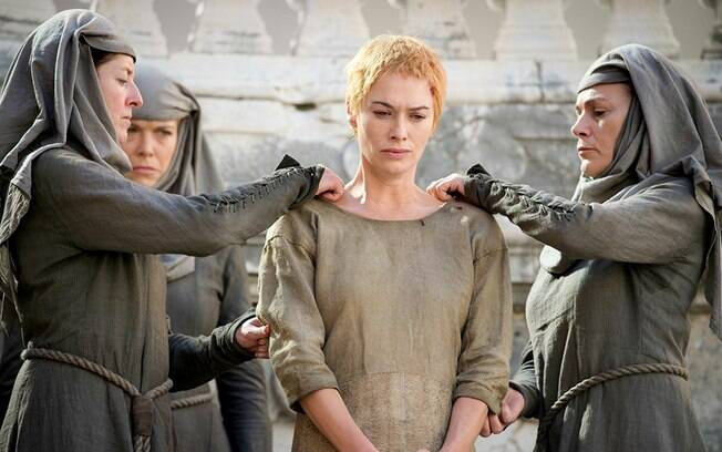 personagem cersei em game of thrones
