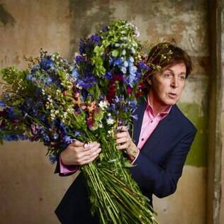 "Paul McCartney em imagem de divulgação do álbum ""Kisses on the Bottom"""