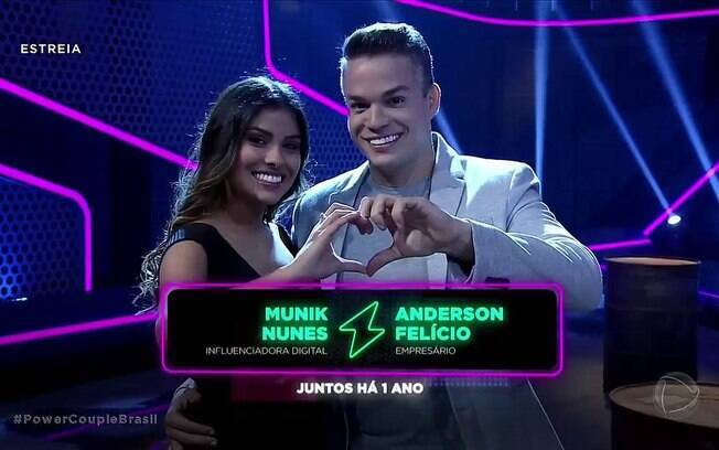 munik nunes e anderson felicio no power couple