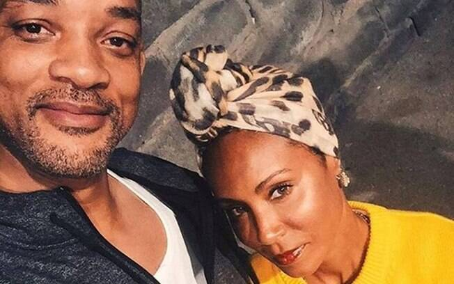 selfie de will smith e jada smith