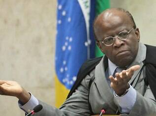 Joaquim Barbosa, presidente do STF