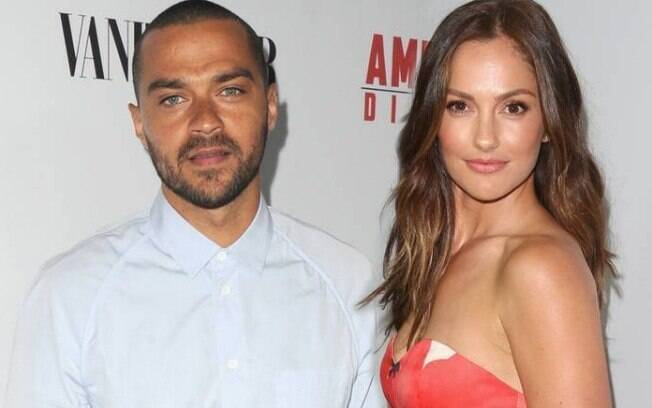 Jesse Williams e Minka Kelly