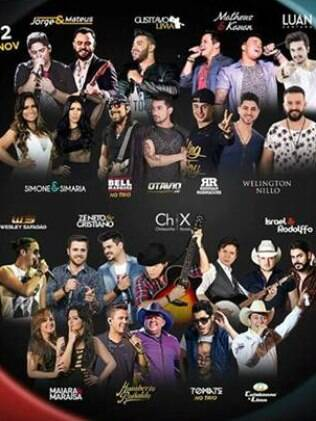 Grandes nomes do sertanejo se apresentaram no Caldas Country 2016