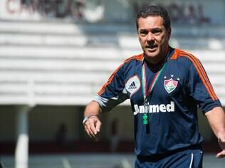 Vanderlei Luxemburgo, técnico do Flu