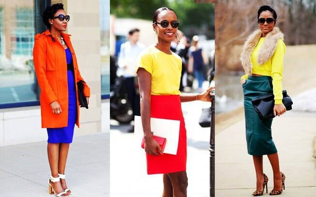 As cores são protagonistas do color blocking