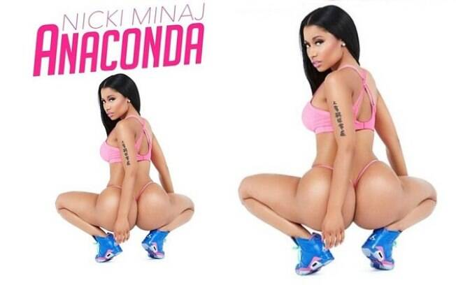 Nicki Minaj e a capa de seu novo single
