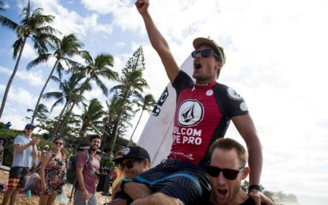 Soli Bailey, campeão do Pipe Pro 2017