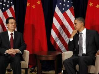 Hu Jintao e Obama: a China cada vez mais forte