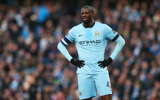 Yaya Toure, meia do Manchester City