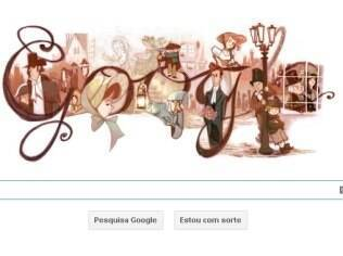 Logotipo do Google homenageia Charles Dickens