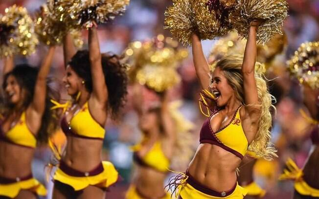 Cheerleaders do Washington Redskins