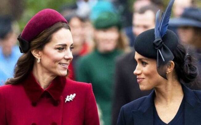 Kate e Meghan Markle