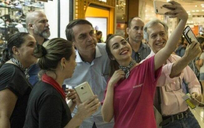 bolsonaro shopping