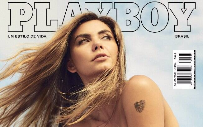 Letícia Datena é capa da revista Playboy de abril