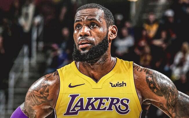 LeBron James vai defender o Lakers na temporada 2018/19