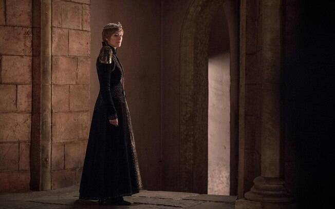 personagem cersei em cena de game of thrones