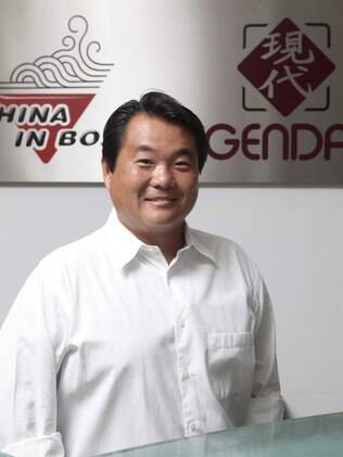 Robinson Shiba, presidente da rede China in Box e Gendai: