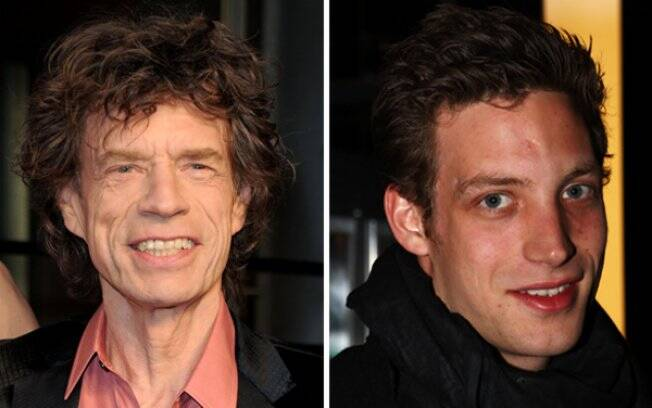 Mick Jagger e James Jagger