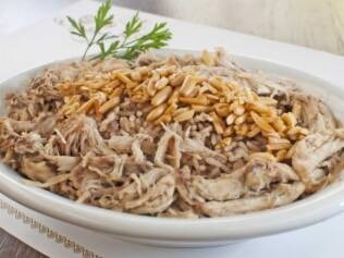 Arroz marroquino do Baruk